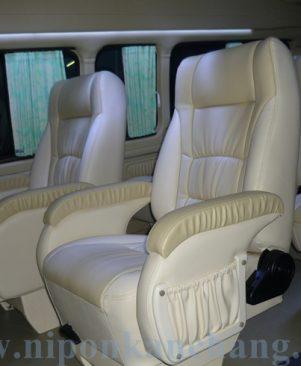 เบาะ 3 แถว 8 ที่นั่ง พักแขนโซฟา J007